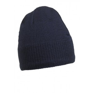 Knitted Beanie with fleece inset
