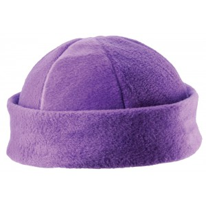 Fleece hat 6 panel